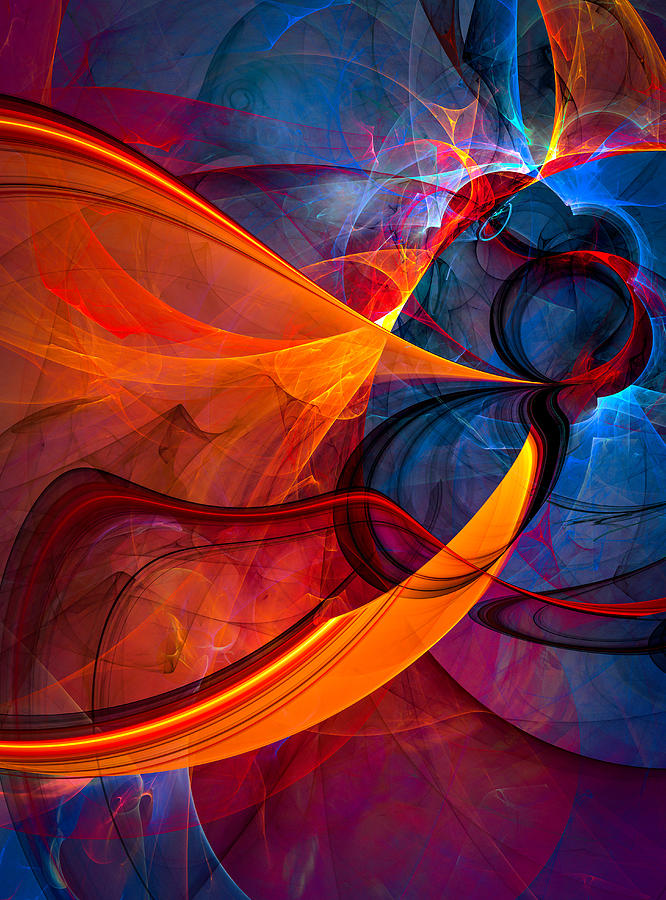 Abstract Digital Art - Infinity - Abstract Art by Modern Abstract