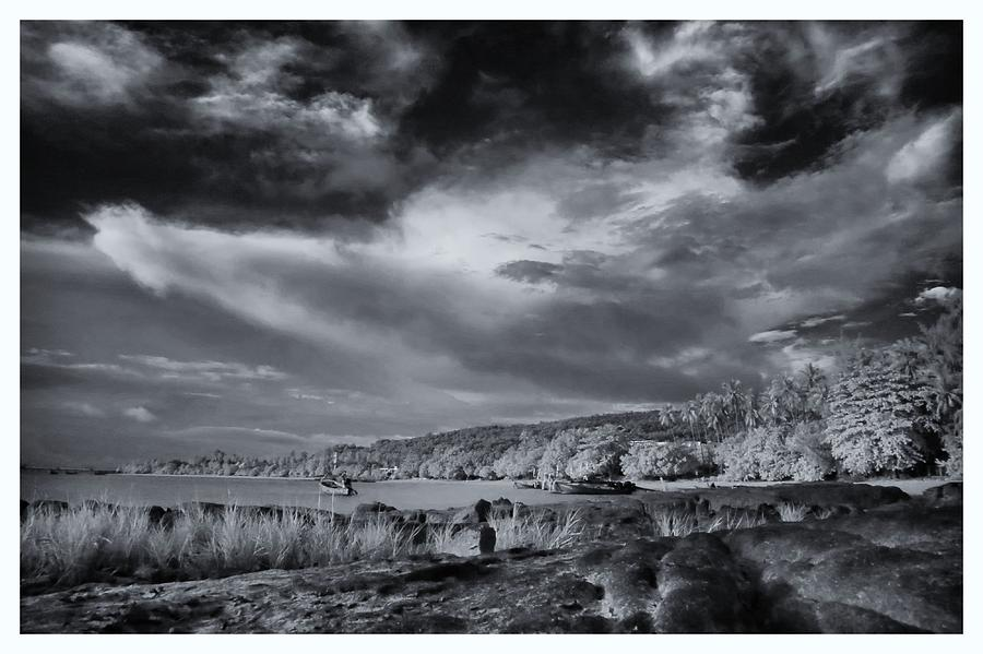 Infrared Photograph - Infrared In Krabi by River Engel