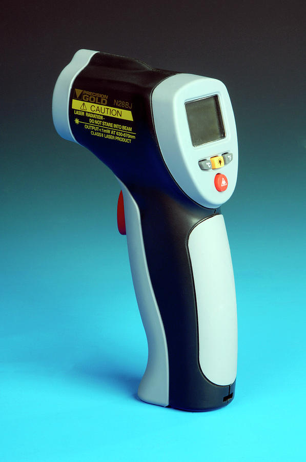 Nobody Photograph - Infrared Laser Thermometer by Public Health England