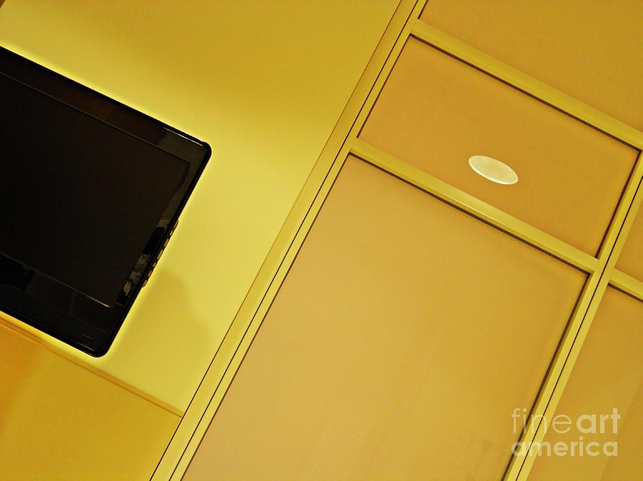 Abstract Photograph - Infusion Suite Wall by Sarah Loft