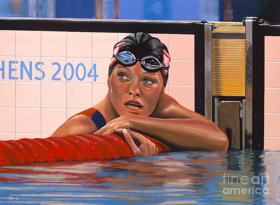 Inge De Bruin Painting - Inge De Bruijn by Paul Meijering