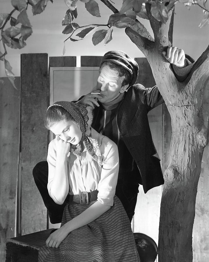 Ingrid Bergman And Burgess Meredith Photograph by Horst P. Horst