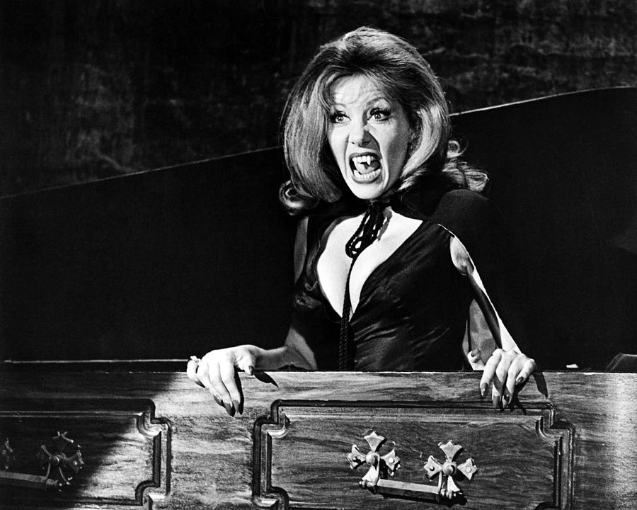 The House That Dripped Blood Photograph - Ingrid Pitt In The House That Dripped Blood  by Silver Screen