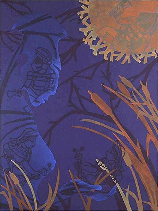 African American Artist Painting - Initiation By Midnight Sun by Robin Holder