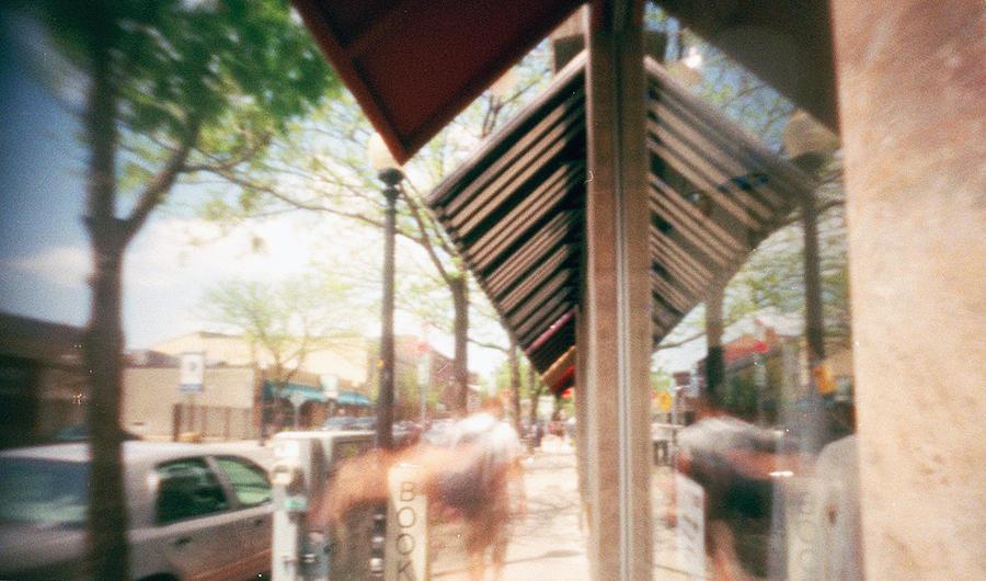Street Photograph - Inman Square by Melissa Schumacher