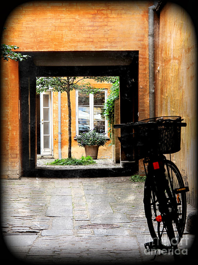 Courtyard Photograph - Inner Courtyard by Joan McCool