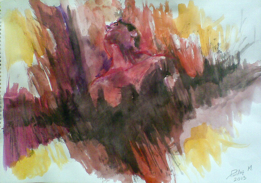 Inner Fight Pastel by Vaidos Mihai