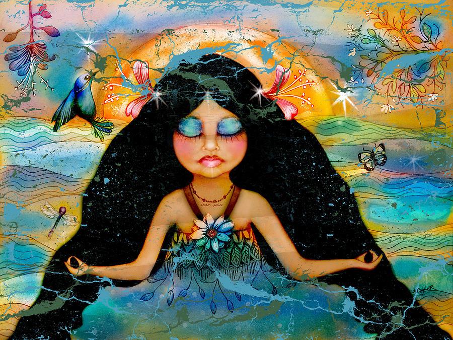 Karin Taylor Digital Art - Inner Peace by Karin Taylor