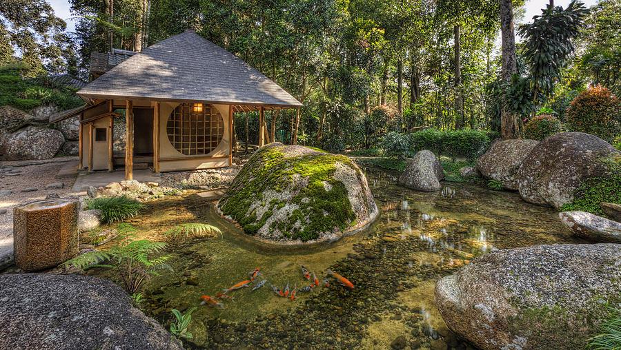 Japanese Garden Photograph - Inner Peace by Mario Legaspi