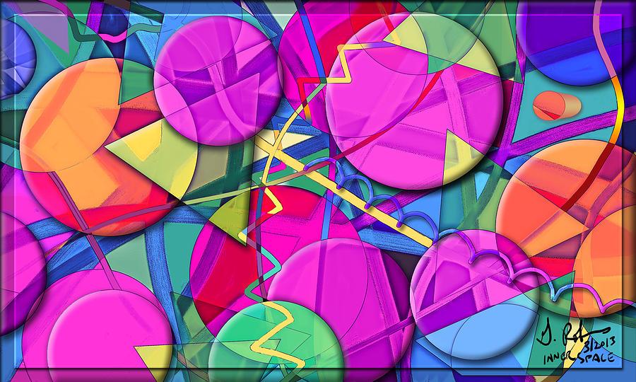 Digital Painting - Inner Space by Gerry Robins
