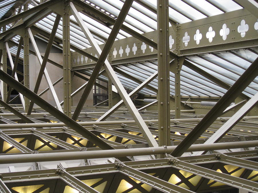 Roof Photograph - Inner Workings by Stephanie Hunter