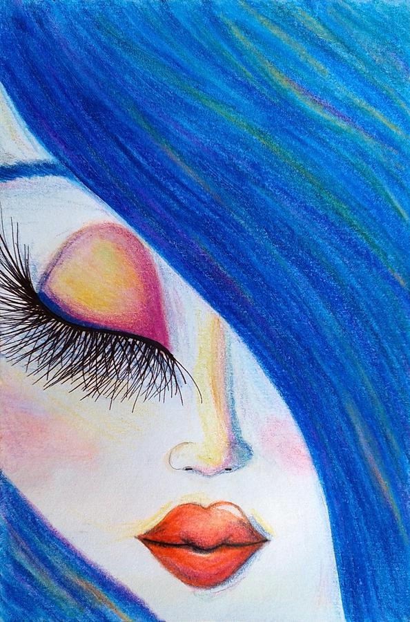 Watercolors Painting - Innocence by Beril Sirmacek