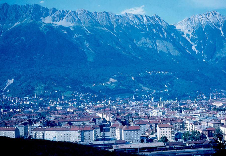 Innsbruck Photograph - Innsbruck Austria 2 1963 by Cumberland Warden