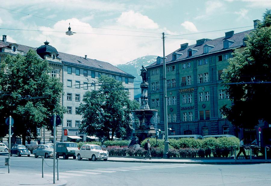 Innsbruck Photograph - Innsbruck Austria 3 1962 by Cumberland Warden