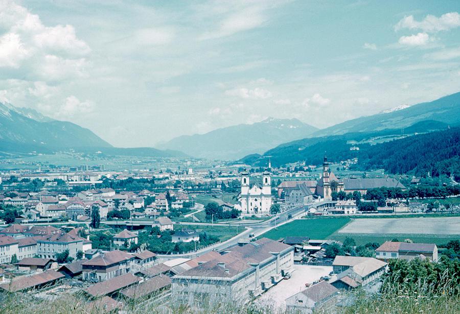 Innsbruck Photograph - Innsbruck Austria 4 1962 by Cumberland Warden