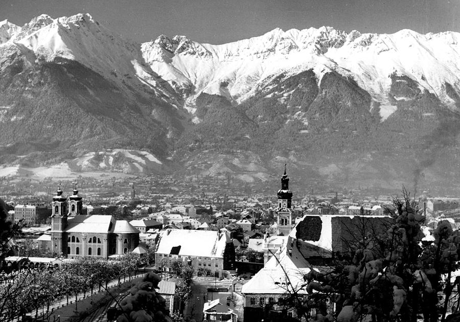 Retro Images Archive Photograph - Innsbruck In Austria by Retro Images Archive