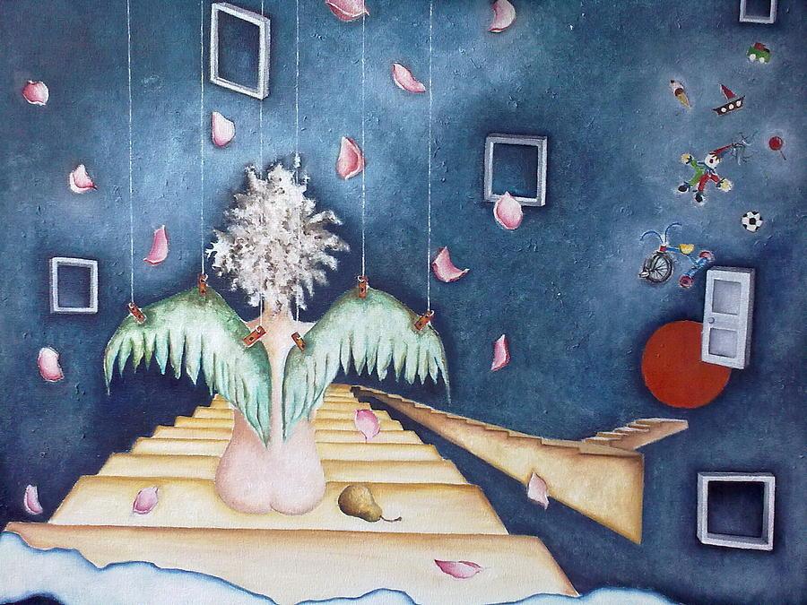 Frame Painting - Inocencia Momentanea by Belen Jauregui