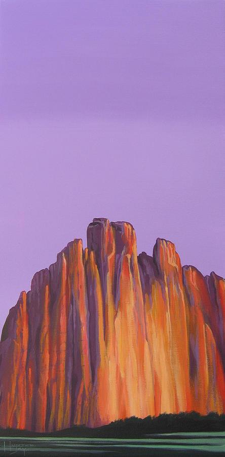 Landscape Painting - Inscription Rock by Hunter Jay