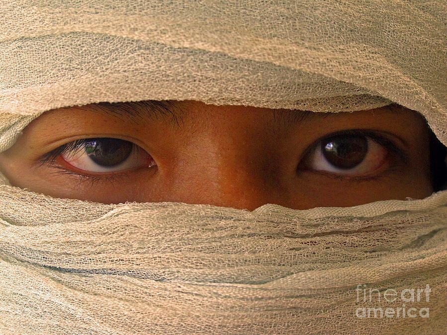 Face Photograph - Inscrutable by Ranjini Kandasamy