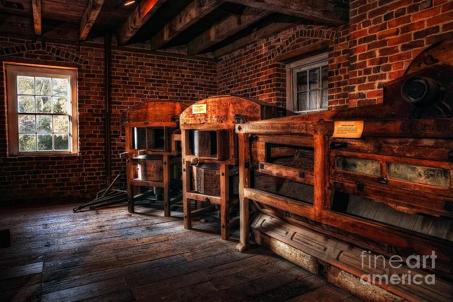 North Carolina Photograph - Inside Kerr Mill I - North Carolina by Dan Carmichael