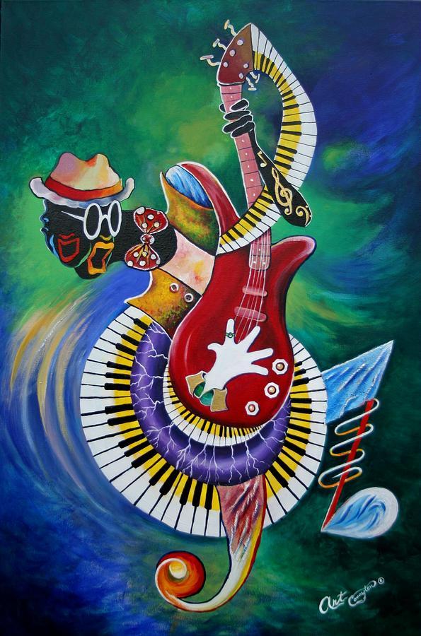 Inside My Music V by Arthur Covington