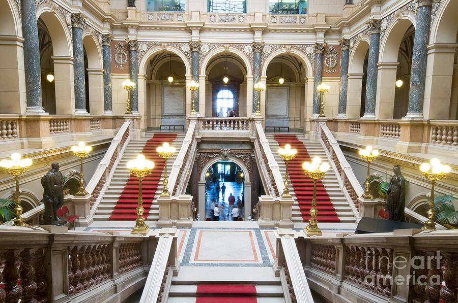 Architecture Photograph - Inside Of National Museum In Prague by Michal Bednarek