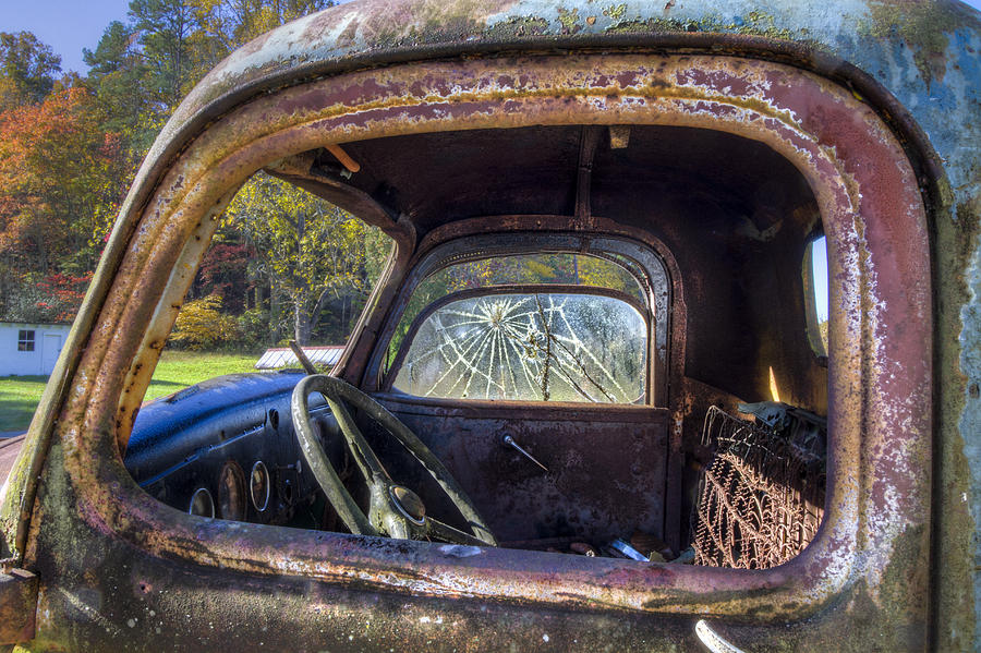 Appalachia Photograph - Inside Out by Debra and Dave Vanderlaan