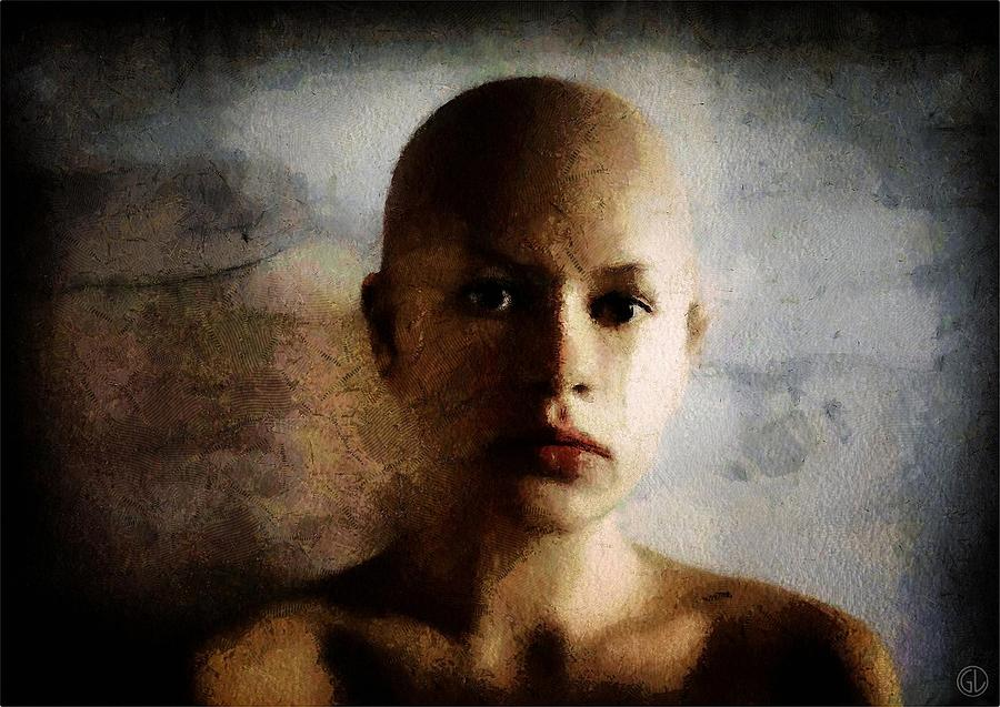 Woman Digital Art - Inside Out by Gun Legler