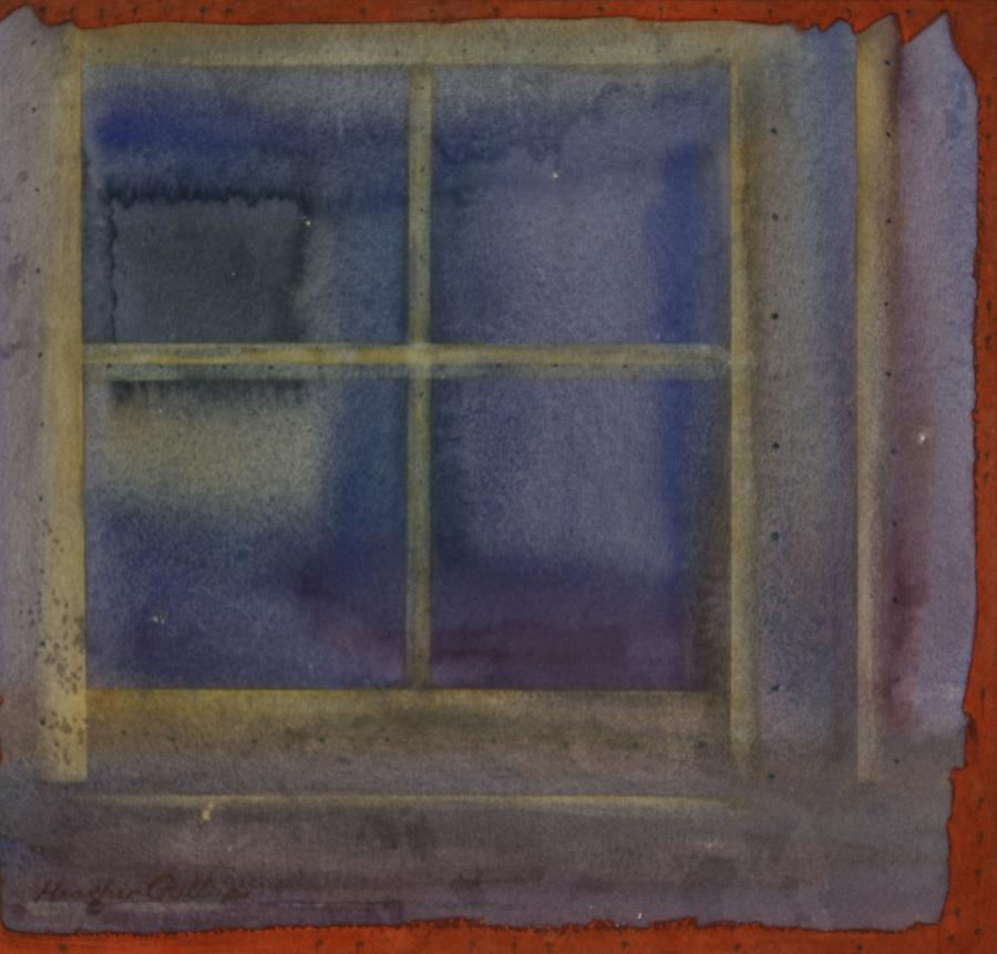 Reflections Painting - Inside Outside by Heather Gallup