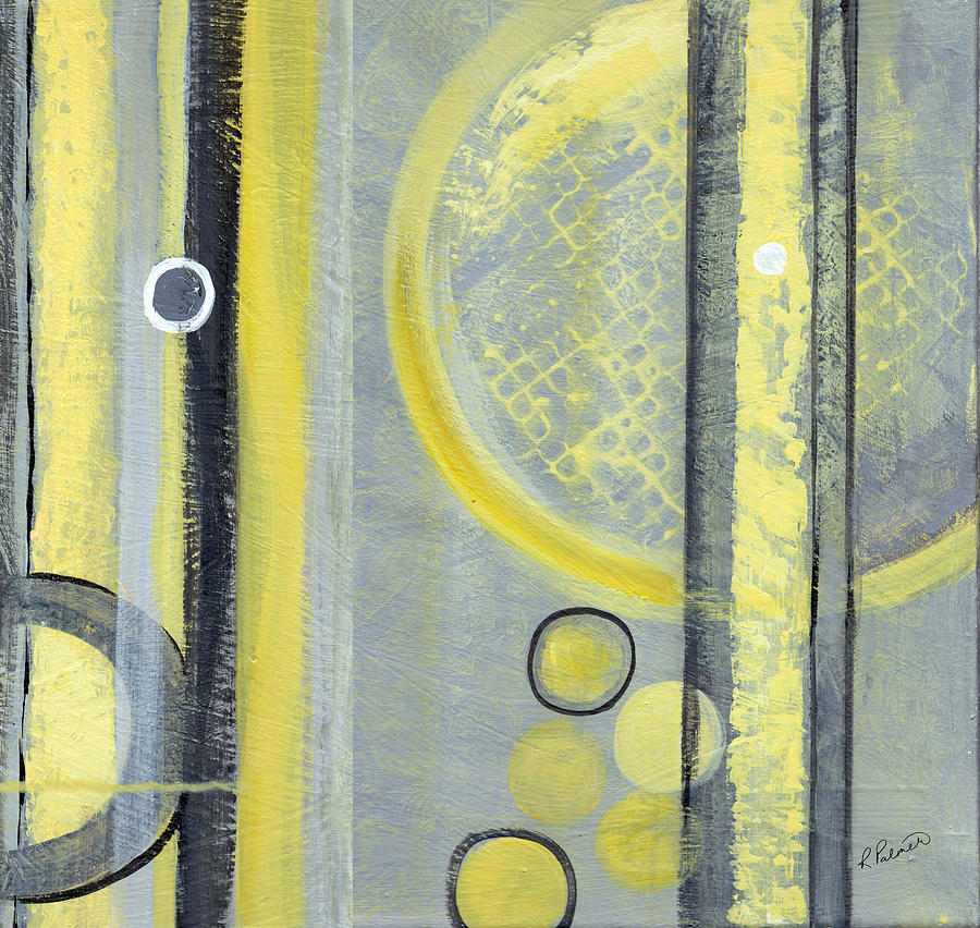 Abstract Painting - Inside Scoop II by Ruth Palmer