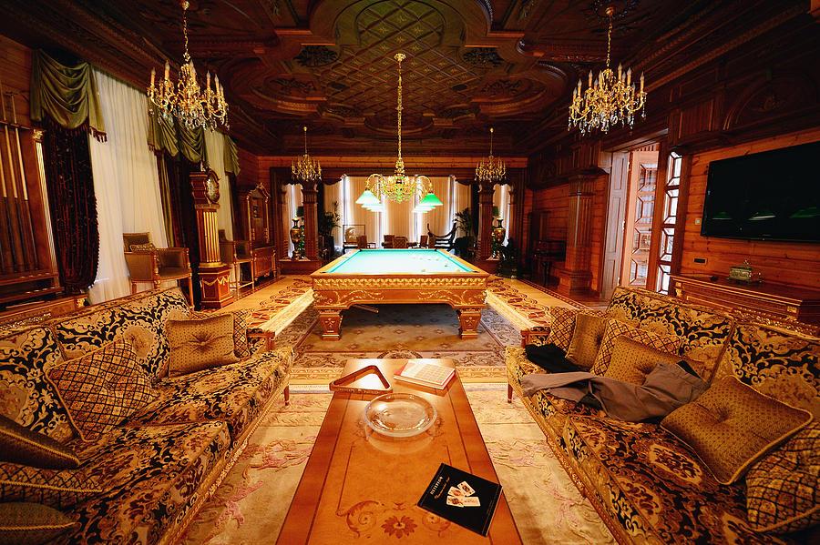 Inside The Presidential Palace Of  Former Ukrainian President Yanukovych Photograph by Jeff J Mitchell