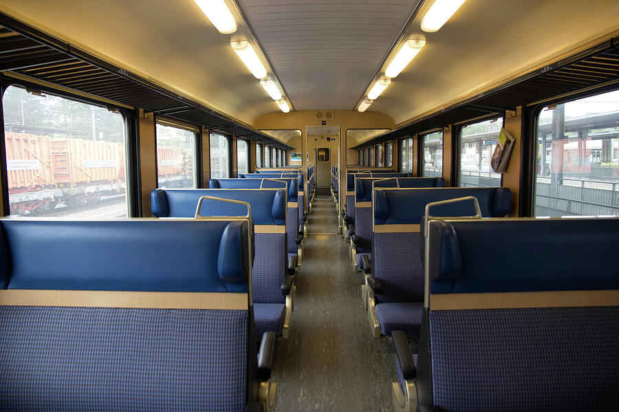 Inside The Train Photograph by Falcon0125