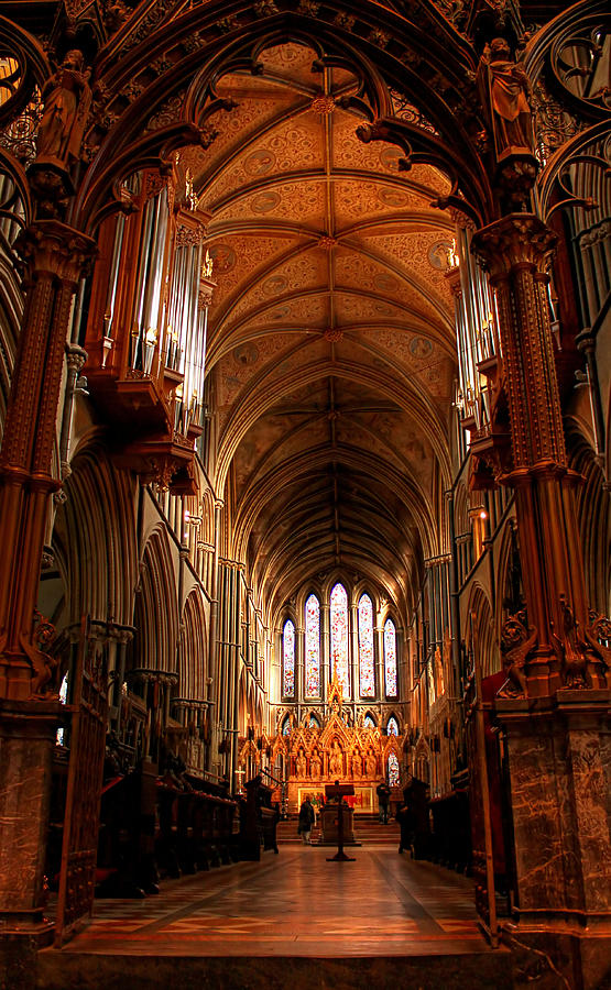 Inside Worcester Catherdral by Sarah Broadmeadow-Thomas