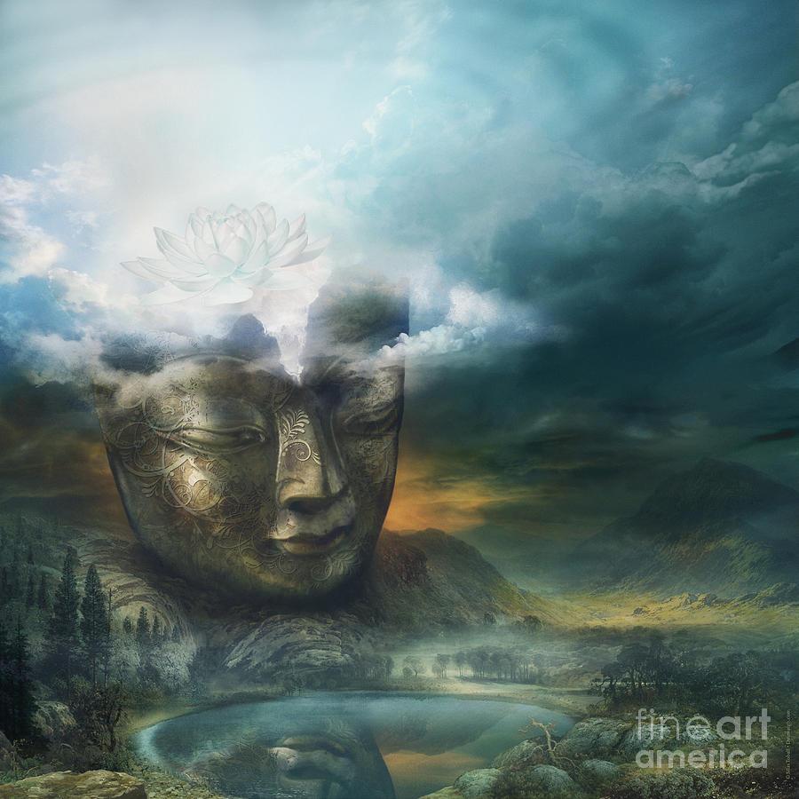 Insight Digital Art - Insight by Silas Toball