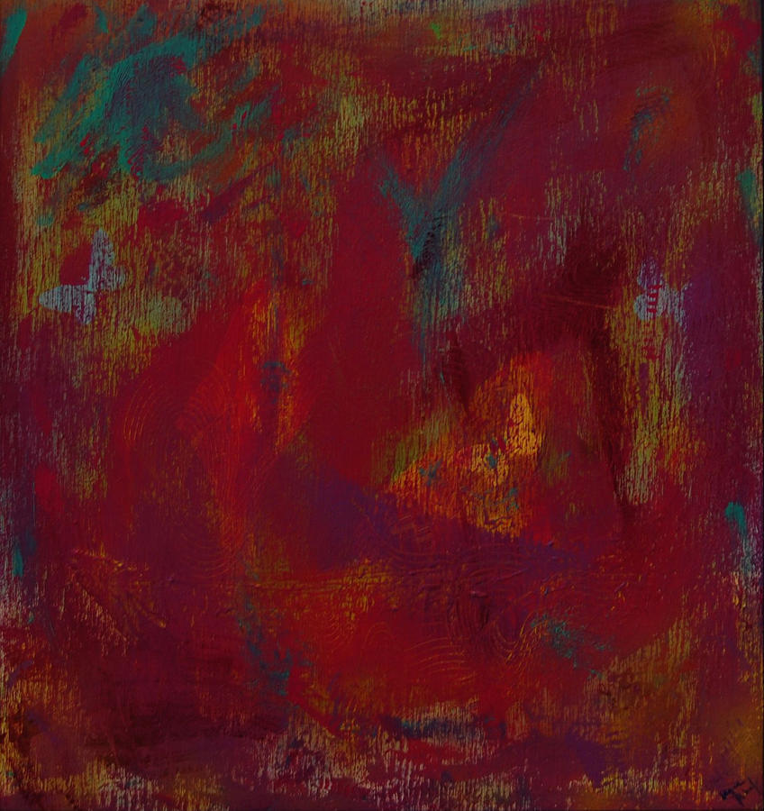 Abstract Painting - Insite 2 by Wayne Potrafka