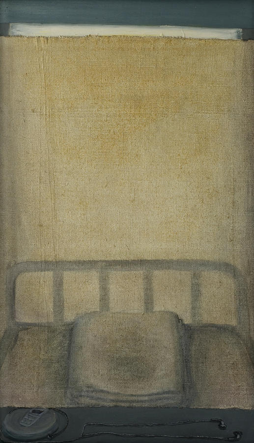 Bed Painting - Insomnia - Lying On The Back by Oni Kerrtu
