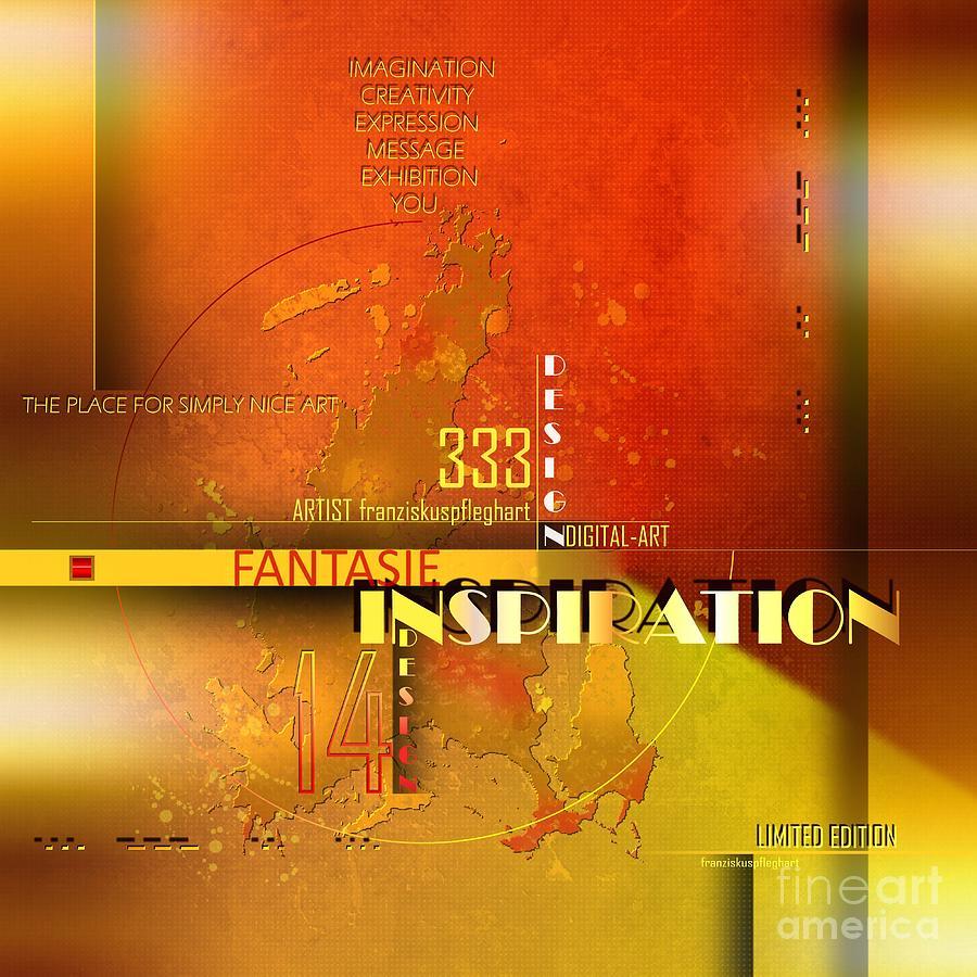 Yellow Painting - Inspiration by Franziskus Pfleghart