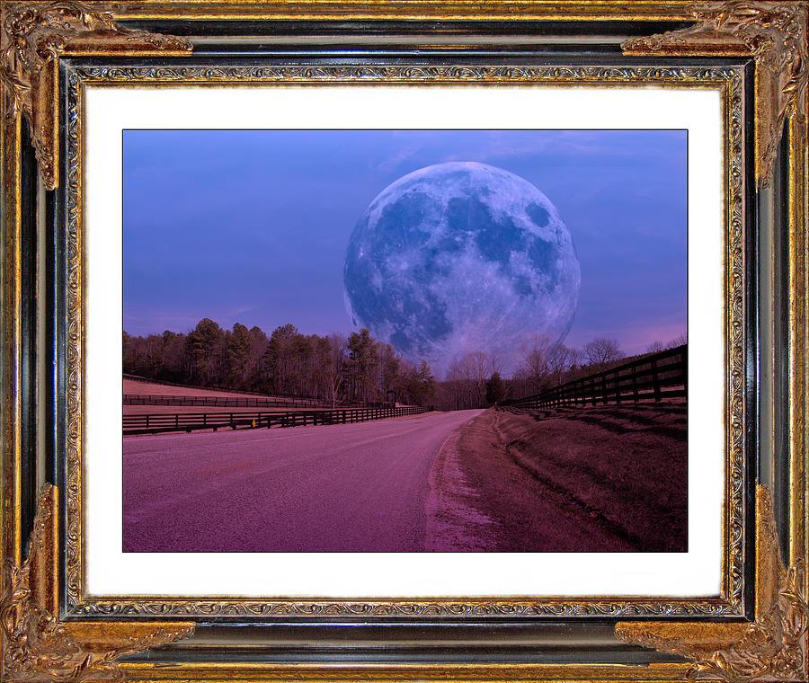 Moonshine Digital Art - Inspiration In The Night by Betsy Knapp