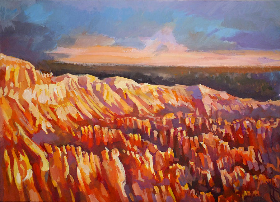 Inspiration Point Painting - Inspiration Point - Bryce Canyon by Filip Mihail