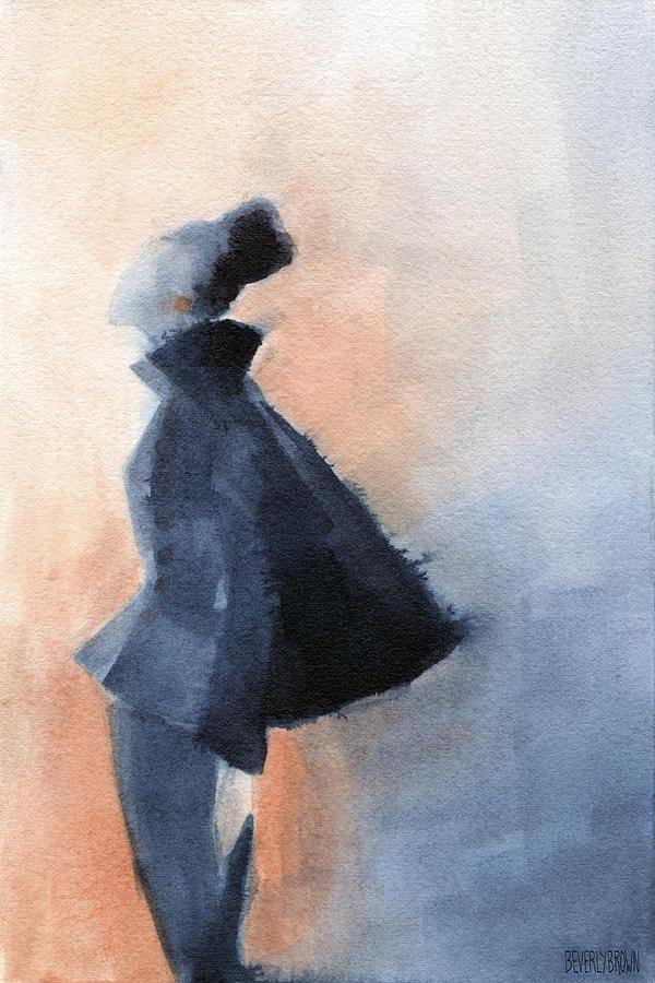 Inspired By Balenciaga Fashion Illustration Art Print