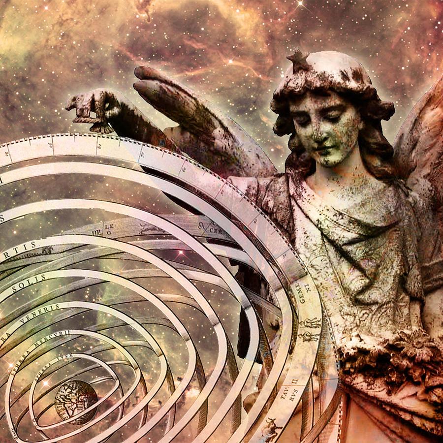 Astrology Digital Art - Inspiring Angel by Daniel Reiiel