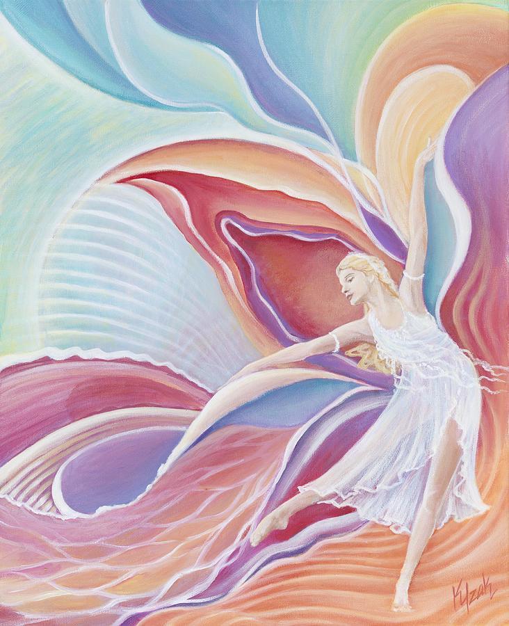 Dance Painting - Inspirita by Kristine Izak