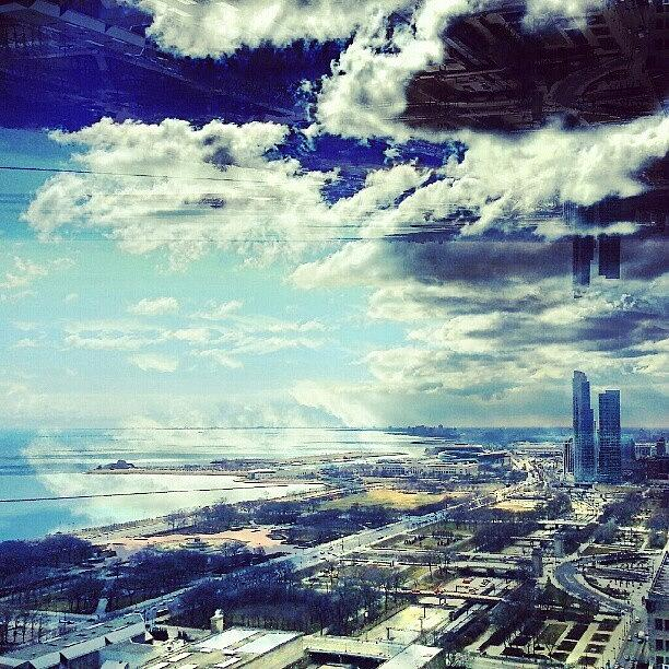 Chicago Photograph - Instagram Glitch Equals A Happy Accident by Jill Tuinier