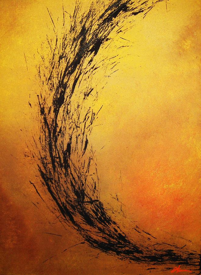 Abstract Painting - Instinct by Todd Hoover