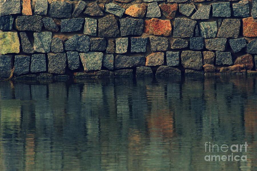 Stones Photograph - Integrity by Vishakha Bhagat