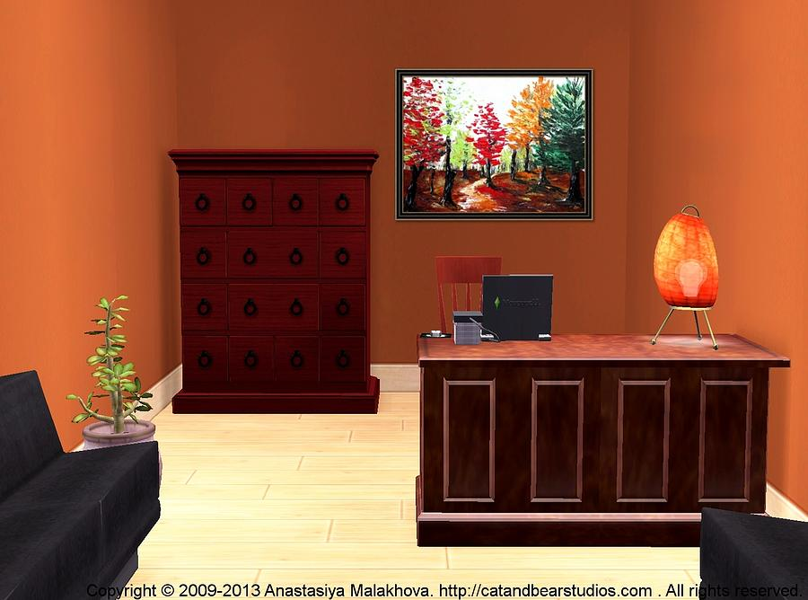 Interior Painting - Interior Design Idea - Autumn by Anastasiya Malakhova