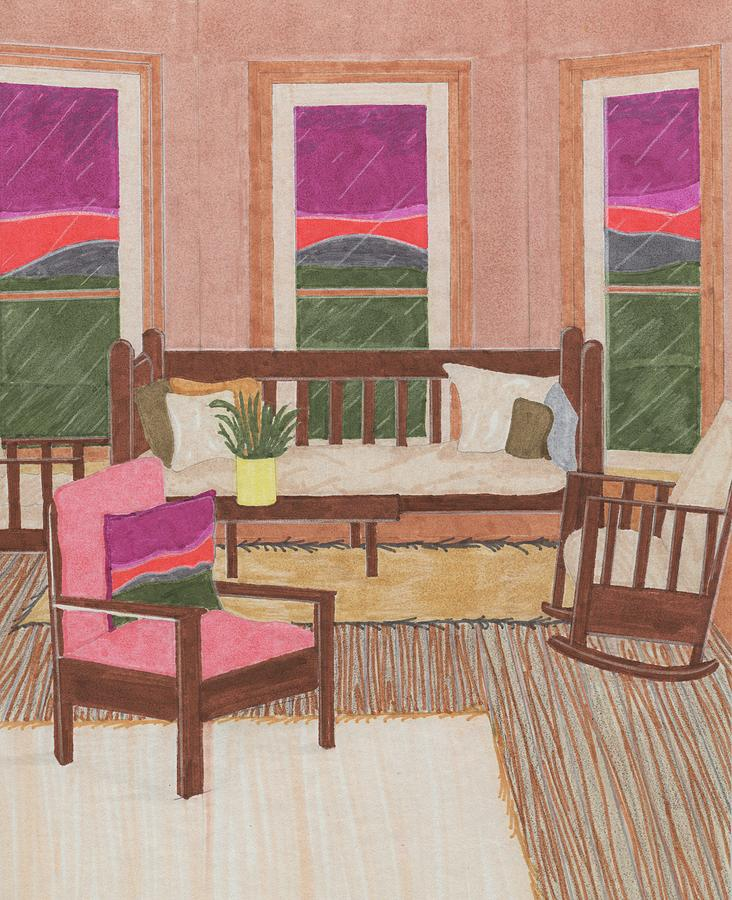 Interior Drawing - Interior Design by Jason Girard