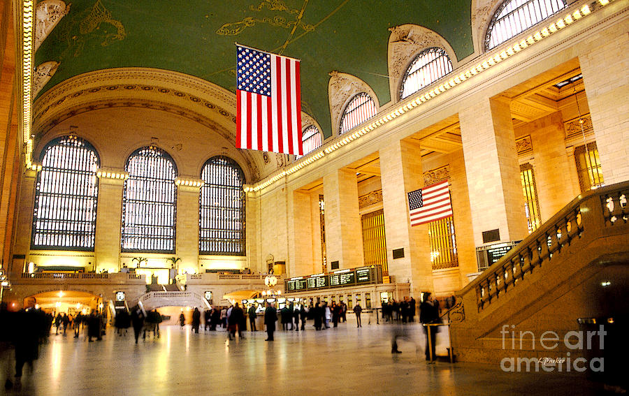 Architecture Photograph - Interior Grand Central Station by Linda  Parker