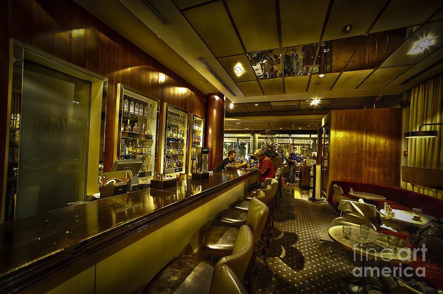 Interior of a bar hdr photograph by dan yeger - Image of bar ...