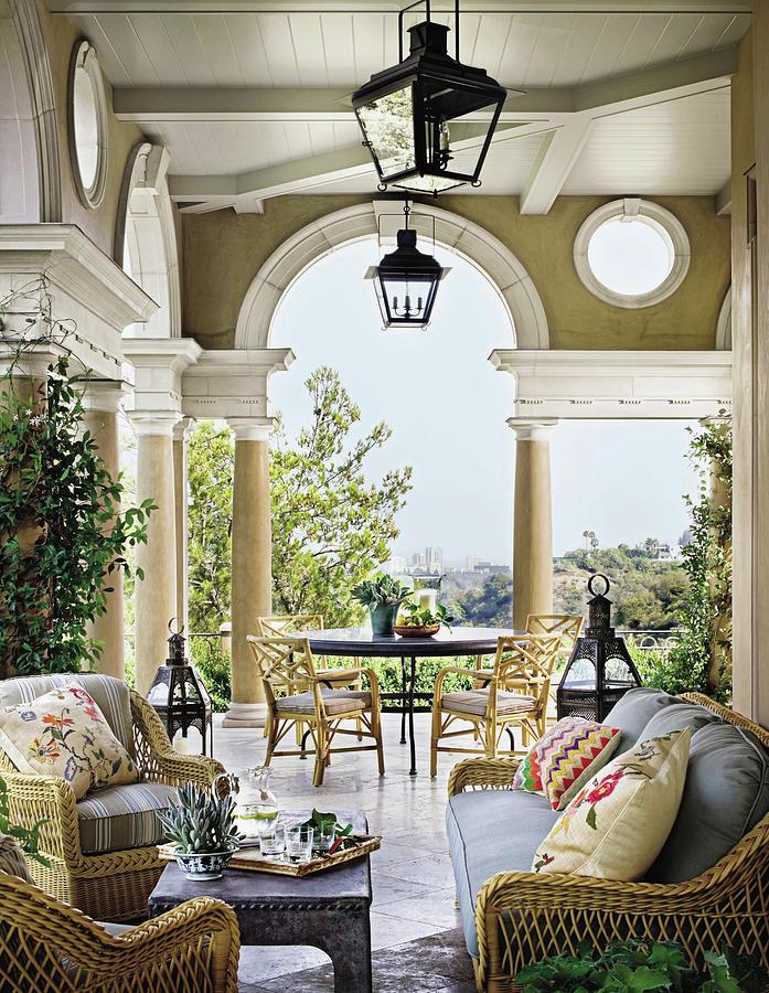 Interior Of Luxury Villa Photograph by Scott Frances